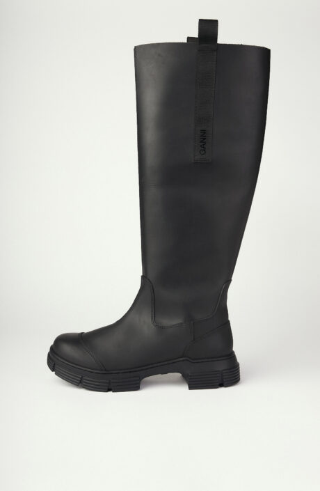 """Stiefel """"Recycled Rubber"""" in Schwarz"""