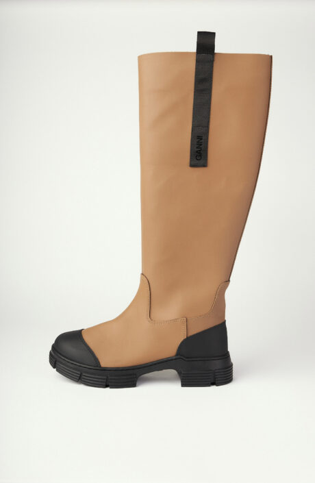 """Stiefel """"Recycled Rubber"""" in Fossil"""