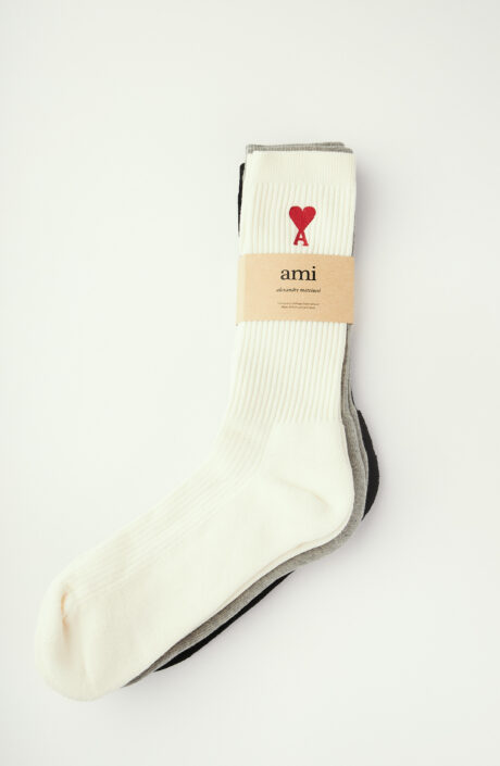 3er Set Socken (grau