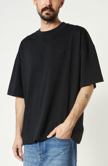 "T-Shirt ""Oversized"" in Schwarz"