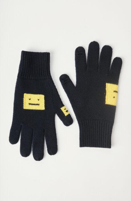 "Handschuhe ""037"" in Schwarz/Gelb"