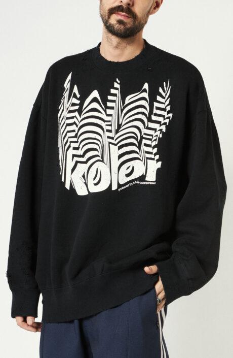 Sweater in Schwarz