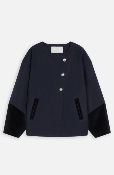 16023 Closed Leandra Medine Cohen jacket navy